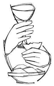 Kleurplaten Eucharistie.Kleurplaat Avondmaal Malvorlage Das Letzte Abendmahl Ausmalbild
